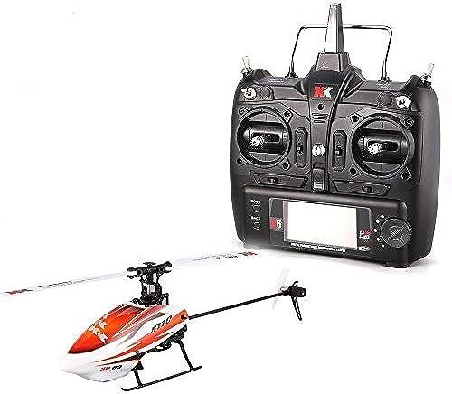 ELVVT Mini Brushless Fernbedienung Hubschrauber K100 6CH 3D 6G System Drohne Mit 3D Upside Down Flug Stunt RTF Wiederaufladbare Elektro Hubschrauber Kinder Und Erwachsene Geburtstag