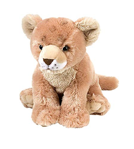 Wild Republic Lion Baby Plush, Stuffed Animal, Plush Toy, Gifts for Kids, Cuddlekins 12 Inches, Multi