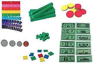 Visualize Math Concepts, Grades 3-4, ETA Cuisenaire Student Manipulatives Kit - 398 Pieces