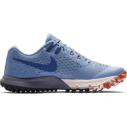 Nike Damen W Air Zoom Terra Kiger 4 Sneakers, Mehrfarbig (Work Blue/Gym Blue/Mountain Blue 001), 43 EU