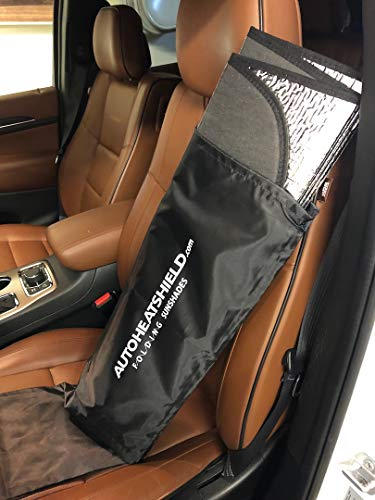 AutoHeatshield Folding Ultimate Windshield Sunshade for 2022 Kia Carnival Windshield Custom Fit Sun Shade