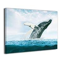 Skydoor J パネル ポスターフレーム クジラ 鯨 海 インテリア アートフレーム 額 モダン 壁掛けポスタ アート 壁アート 壁掛け絵画 装飾画 かべ飾り 30×20