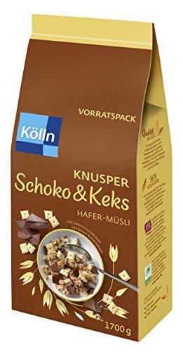 Kölln Müsli Knusper Schoko & Keks, 1.7 kg