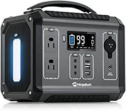 NinjaBatt Portable Power Station 300 - 280Wh Backup Lithium Battery with 110V/300W AC Outlets, Clean & Silent Generator for Outdoor Camping RV Emergencies