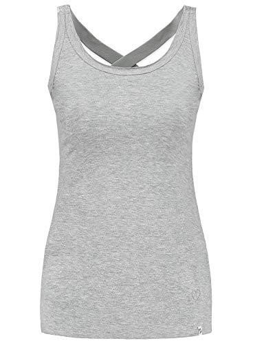 KEY LARGO Damen Tanktop WT Top Lucy grau (13) XL
