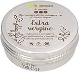 LA SAPONARIA - Crema de Manos con Aceite de Oliva - Calmante gracias a su contenido en Aloe - Nutrición intensa para la piel - Sin perfume - Vegana - 60 ml