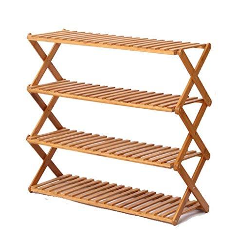 JIADUOBAO Zapatero de varios pisos para el hogar, zapatero simple, ajustable, vertical, tamaño 50 cm