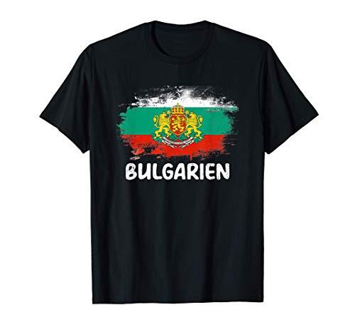 Bulgarien Flagge Bulgaria Fahne Fan T-Shirt