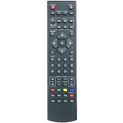 Mando a distancia de repuesto RMU/RMC/0006 RM18G28 para Blaupunkt LED TV B46FA58FBK W32/188G-GB-FTCU-UK / M4074JGB X32 56J-GB-HCUP-EU