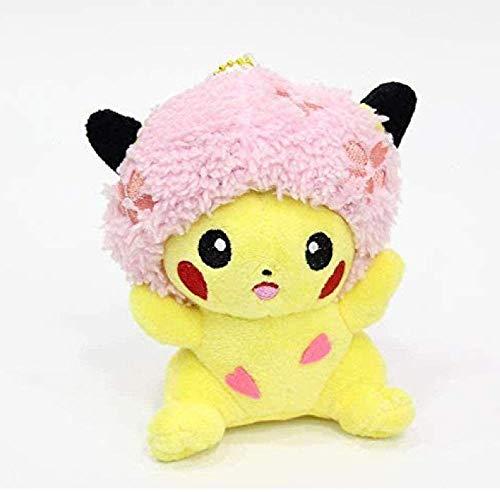 Knuffel Pikachu Cherry Blossom Plus Doll Pendant Large 34Cm Cherry Blossom Pikachu