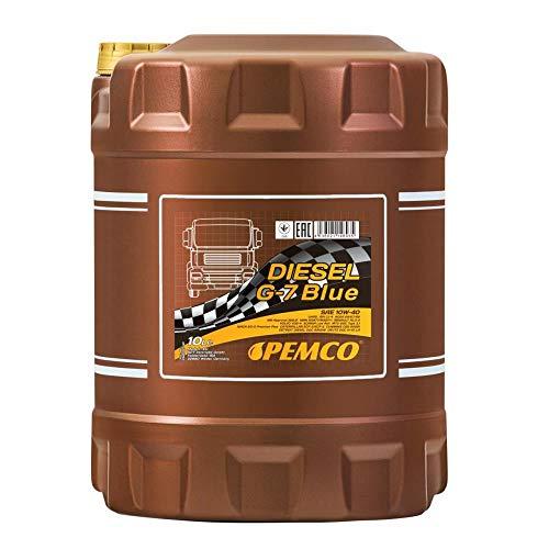 1 x 10L PEMCO UHPD G-7 BLUE 10W-40 CJ-4 E9-12 / NKW Motoröl LKW Busse DPF MB 228.51 VDS-4