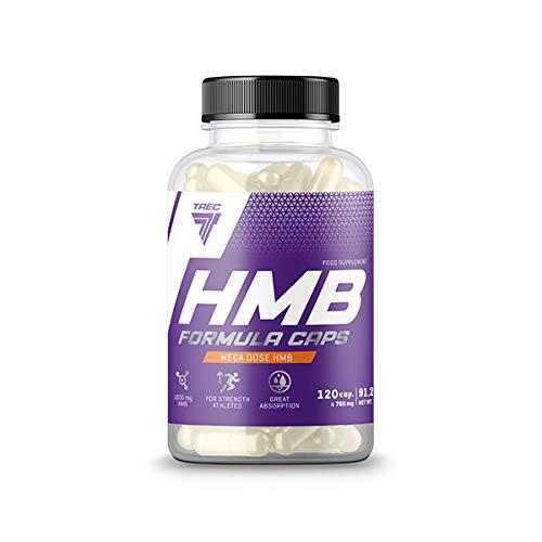 Trec Nutrition HMB Revolution L-Arginine and HMB Complex Fat Free Muscle Mass Faster Regeneration Training Bodybuilding 150 Capsules