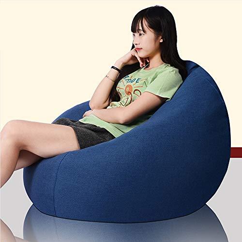 Zhanghaidong Designer Recliner Gaming Sitzsack Outdoor Sitzsack Ideal Für Gaming Soft & Snugly Designer Stuhl Sitzsack Gaming Sitzsack Sitzliege Ocean