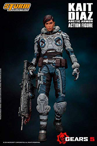 Storm Collectibles 1/12 Kait Diaz Gears of War Action Figure