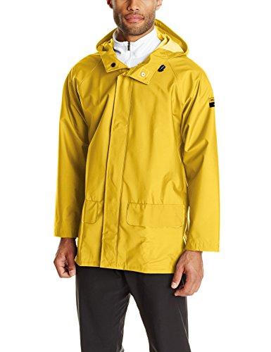 Helly Hansen Workwear Men's Mandal Rain Jacket, Light Yellow, Large