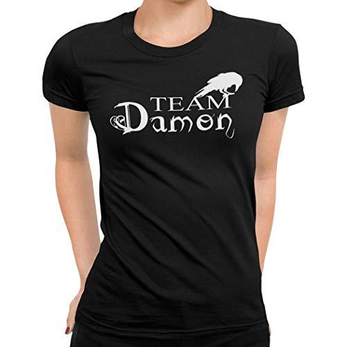 Getting Shirty, camiseta para mujer con diseño de 'Crónicas vampíricas' y...