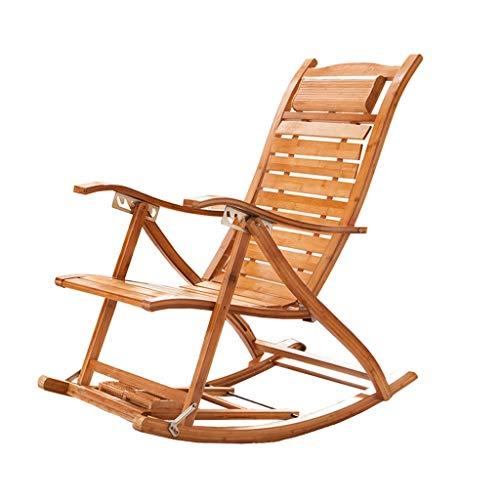 Klappbarer Liegestuhl Liegesessel Bambusstuhl Garten Patio Sonnenliege Schlafzimmer Wohnzimmer Büro Rest Stuhl Schwangere Frau Liege