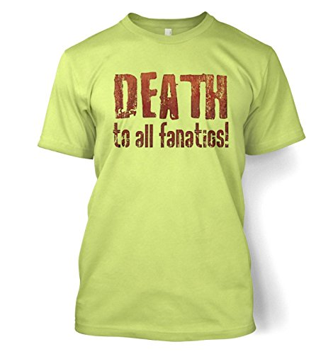 Death to All Fanatics T-Shirt - Grün - X-Large (117/122 cm)