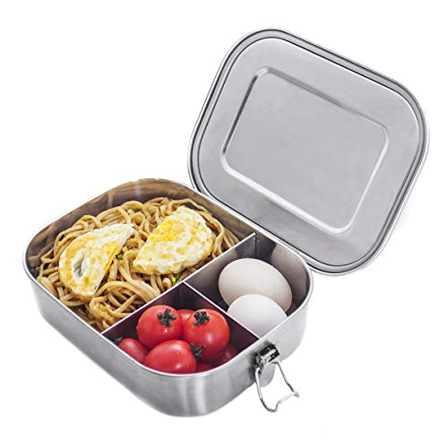 Stainless Steel Bento Box Lunch Containers
