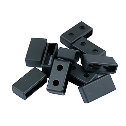 Harilla 10pcs Anneau De Fixation en Caoutchouc pour Boucles De Connecteur G-Shock 18/20 / 22mm - Noir 20mm, 18mm 20mm 22mm