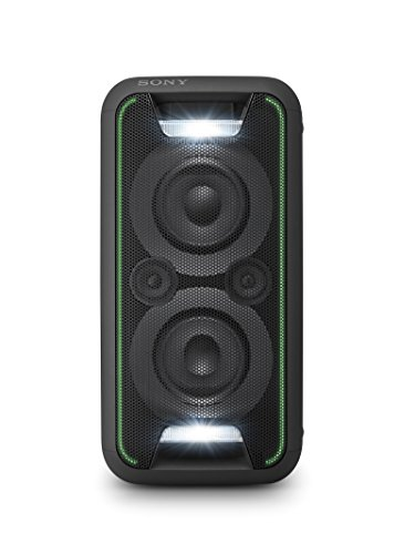 Sony GTK-XB5 One Box Party Soundsystem (200 W Ausgangsleistung, Extra Bass, Bluetooth, NFC, Licht und DJ-Effekte) Schwarz