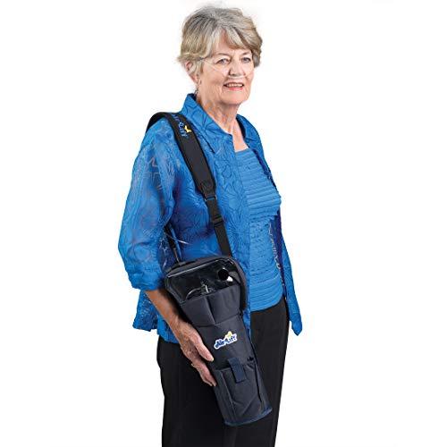 Roscoe Medical Roscoe Portable Oxygen Tank Comfort Shoulder Bag for M9/C Cylinders - Medical Oxygen Cylinder Holder, 34N