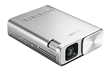 ASUS ZenBeam E1 Portable Mini Projector with Speakers HDMI/MHL 6000mAh Battery up to 5 hours | Auto Keystone | Award winning design | 2 Years Warranty
