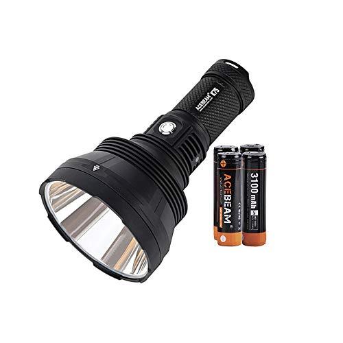 ACEBEAM K75 Taschenlampe 2500 Meter Beam Throw, Mit Akku, 6300 Lumen Superhelle LED-Taschenlampe