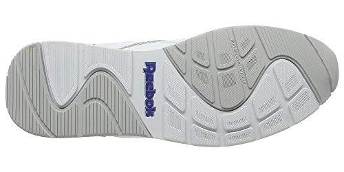 Reebok Royal Glide, Zapatillas de deporte, Hombre, Blanco (White / Steel / Reebok Royal), 42.5 EU