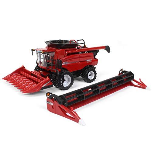Case IH 1/64 Prestige 7150 Combine with Corn and Grain Headers by  ZFN - ERTL 44243