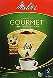 Melitta tamaño 1 x 4 Gourmet EU Aroma bolsas de filtro zonas, 80 unidades