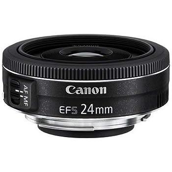 Canon EF-S 24 mm f/2.8 STM Lens - Black