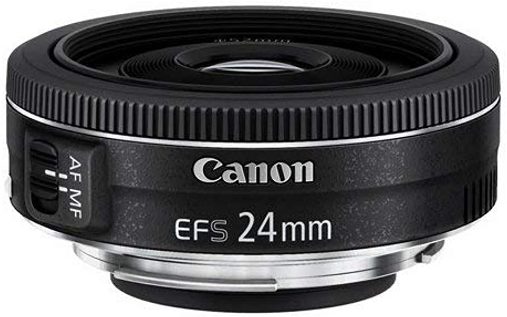 Canon Pancake EF-S 24 mm f/2.8 STM - Objetivo para Canon distancia focal 24 mm apertura f/2.8 negro