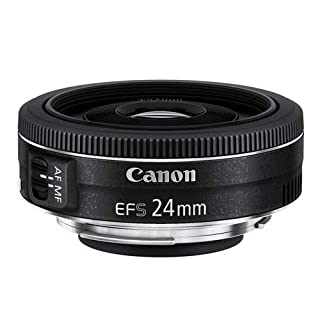 Canon Pancake EF-S 24 mm f/2.8 STM - Objetivo para Canon, distancia focal 24 mm, apertura f/2.8, negro (B00NLBGD1A) | Amazon price tracker / tracking, Amazon price history charts, Amazon price watches, Amazon price drop alerts