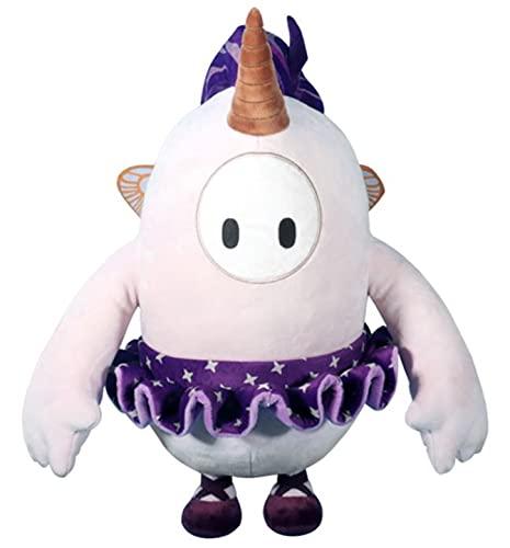 40cm Fall Knockout Guys Almohada de felpa con pieles de anime caliente juguete figura de peluche animal relleno lindo modelo decoración del hogar (F)