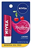 NIVEA Cherry Lip Care - Tinted Red for Beautiful, Moisturized Lips - .17 oz. Stick