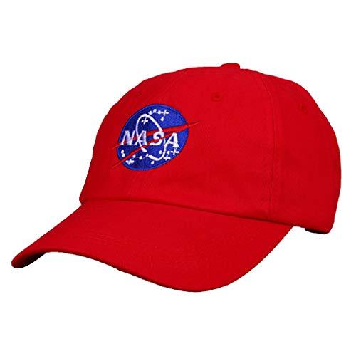 XXW NASA-Logo Cap Negro Blanco Rojo Gris