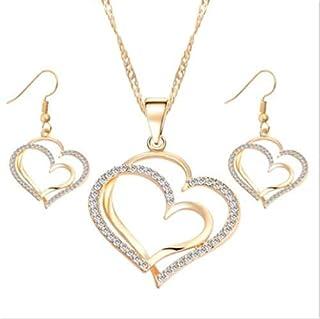 FidgetFidget Collares Cadenas de Oro para Mujer 18K Joyas Joyeria Fina de Moda Plata 925 Gold