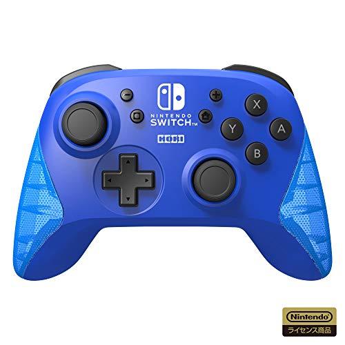 【任天堂ライセンス商品】ワイヤレスホリパッド for Nintendo Switch ブルー【Nintendo Switch対応】