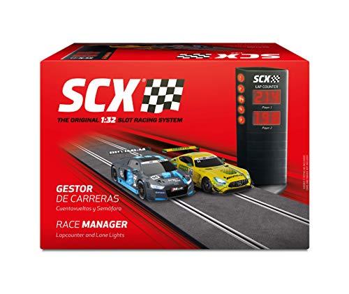 Scalextric- Accesorio Gestor de Carreras, Cuentavueltas y Se