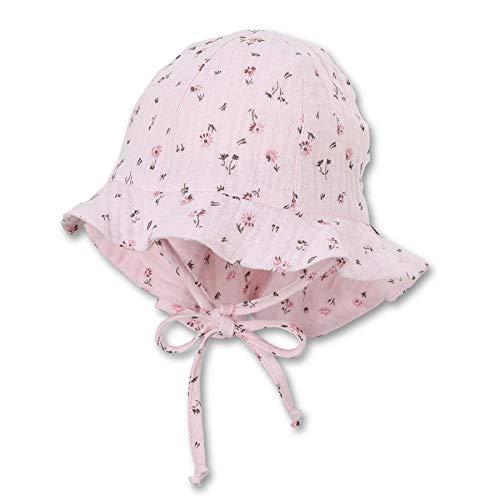 Sterntaler Baby-Mädchen Flapper 1402121 Hut, rosa, 49