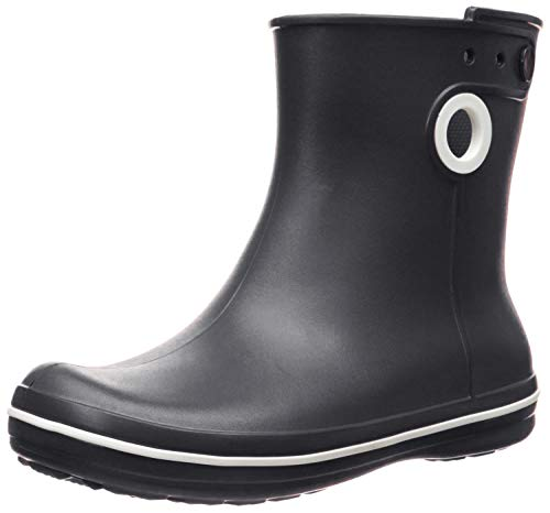 Crocs Crocs Jaunt Shorty Boot Women, Damen Gummistiefel, Schwarz (Black), 37/38 EU
