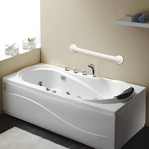 Asidero para baño 30/45 / 60cm Blancos del Acero Inoxidable Barra de sujeción Antideslizante baño manija de la Seguridad for el baño de Ancianos de Accesorios Peso máximo de carga-BF-101-450mm