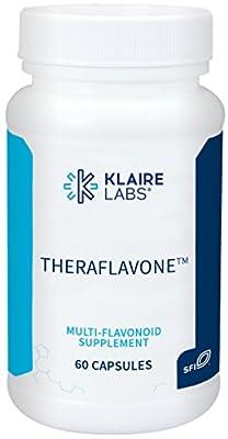 Klaire Labs (ProThera) Theraflavone - Flavonoids with Pycnogenol, Milk Thistle & Bilberry (60 Capsules)