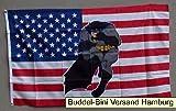 Flagge Fahne ca. 90x150 cm : USA Batman