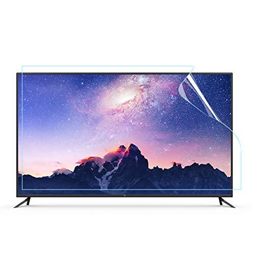 ALGWXQ Protector de Pantalla Anti Luz Azul Adecuado para LCD, LED, 4K OLED Y QLED Y Pantalla Curva Prevenir La Fatiga Ocular Instalación Sin Burbujas (Color : HD Version, Size : 55 Inch 1221 * 689mm)