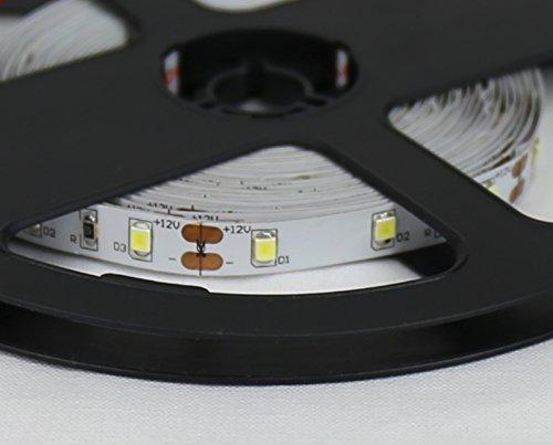 Jandei - Striscia Led 12V Luce Neutra 3000K/4000K/6000K 300 LED IP20 Interno SMD2835 Bobina 5 mt [Classe di efficienza energetica A] (4000K)