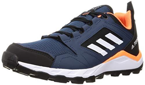 adidas Terrex Agravic TR, Zapatillas de Trail Running Hombre, AZMATR/FTWBLA/AZUBRU, 42 2/3 EU