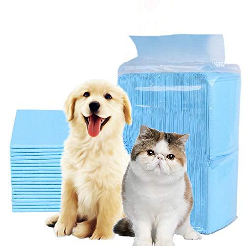PETVE Haustier Hund Windeln Windeln Matte Dicke weiße Einweg-Windeln wechseln Deodorant Umweltreinigungsmittel,L