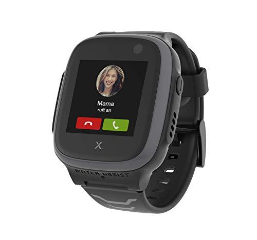 Xplora Kids Watch X5 Play eSIM GPS-Smartwatch für Kinder mit SOS-Taste, Standort-Anzeige, Telefon & Sprachnachrichten | per App mit Smartphone der Eltern verbunden | 6 Monate Telekom Prepaid (Grau)